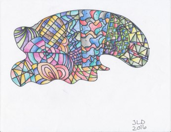 tangle art 4-17