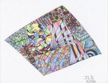 tangle art 4-19