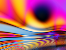 """""""Molten"""" fractal by Jenn Dixon"""