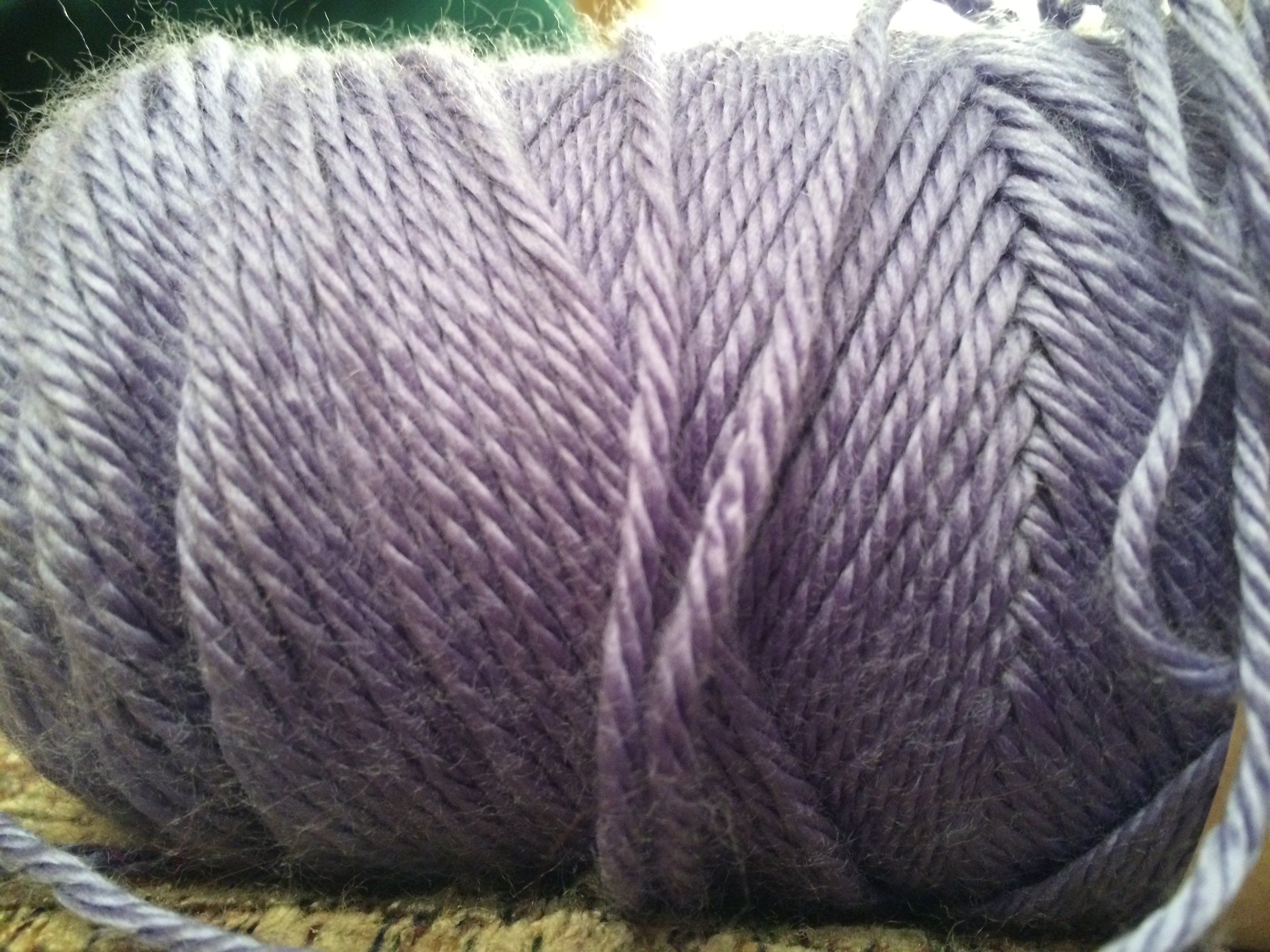 Purple Yarn. Photo by Jenn Dixon.