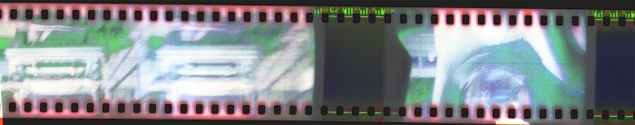 Cars 35mm Holga sprockets