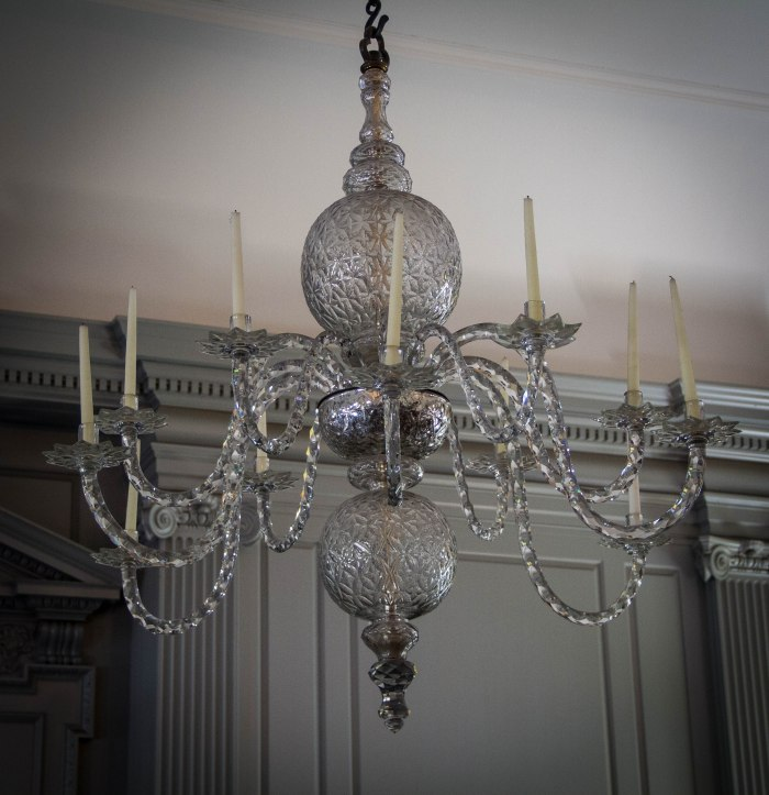 Chandelier in Independence Hall