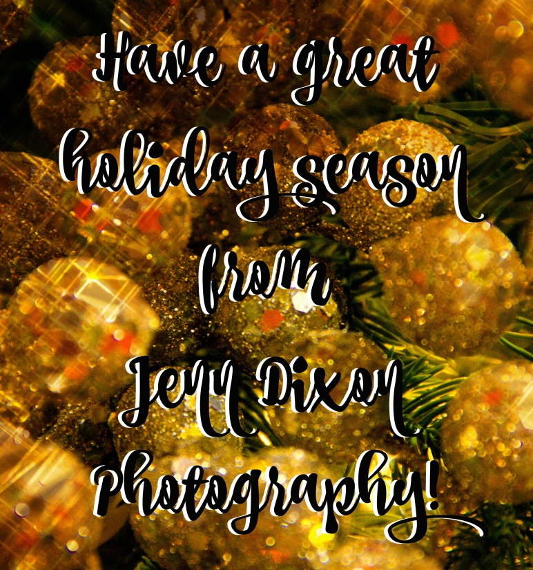Have a great holiday season from Jenn Dixon Photography!